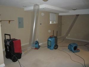 Water Damage Mesa Vacuuming Attic